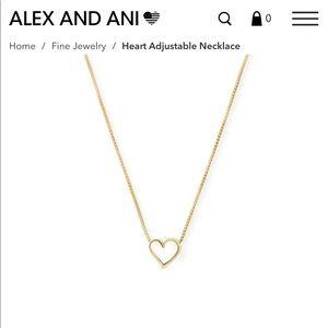 Alex & Ani Heart Necklace